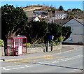 SN4401 : Colby Road bus stop and shelter, Burry Port by Jaggery