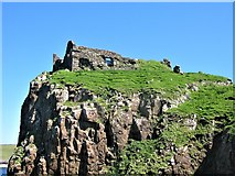 NG4074 : Duntulm Castle, Isle of Skye by G Laird