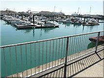 TR3140 : View across a marina by John Baker