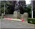 SJ3350 : Royal Welch Fusiliers War Memorial, Wrexham by Jaggery