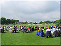 SK8609 : Leicestershire v Lancashire at Oakham School by John Sutton