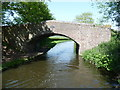 SO8697 : Mops Farm Bridge [No 54], from the south by Christine Johnstone
