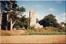 SW5435 : St Erth: towards St Ercus' church by Martin Bodman