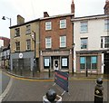 SJ8990 : Shops on Market Place by Gerald England