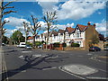 TQ1681 : Mini-roundabout on The Avenue, West Ealing by Malc McDonald