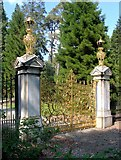 NS1385 : The Golden Gates at Benmore Gardens by Alan Reid