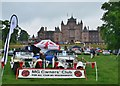 NT5347 : MG cars on show at Thirlstane Castle by Jim Barton