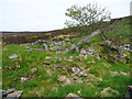 SE0027 : Ruins of Faugh Well Farm, Wadsworth by Humphrey Bolton