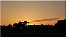 SX9065 : Sunset by Cricketfield Road, Torre by Derek Harper