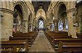 TA0489 : Interior, St Mary's church, Scarborough by J.Hannan