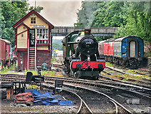 SD8010 : Witherslack Hall at Bury South by David Dixon