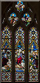 TA0489 : Stained glass window, St Mary's church, Scarborough by Julian P Guffogg