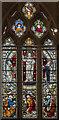 TA0489 : Transfiguration window, St Mary's church, Scarborough by Julian P Guffogg