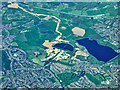 SP0080 : Frankley and Bartley Reservoirs (aerial) by David Dixon