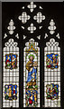 TA0489 : St John the Baptist window, St Mary's church, Scarborough by Julian P Guffogg