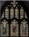 TA0489 : Martha & Mary window, St Mary's church, Scarborough by Julian P Guffogg