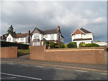 SO9674 : Houses on Birmingham Road, Lower Marlbrook by David Howard