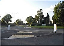 SJ9105 : Old Stafford Road at the junction of Stafford Road by David Howard