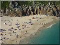 SW3822 : Porthcurno Beach : Week 22