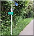 TQ5717 : Cuckoo Trail at Downline Close, Horam by PAUL FARMER