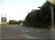 SO9590 : Roundabout on Castle Hill, Dudley by David Howard