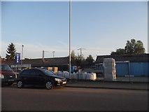 SO9397 : Builders Centre on Bilston Road, Monmore Heath by David Howard