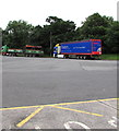 ST8979 : Two articulated lorries in Leigh Delamere Services Eastbound by Jaggery