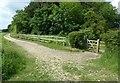 SK5328 : Bridleway cross on the West Leake Hills by Alan Murray-Rust