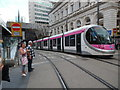 SP0786 : Midland Metro Tramcar in Birmingham City Centre by David Hillas