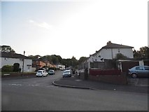 SO9491 : Priory Road at the junction of Mayfield Road by David Howard