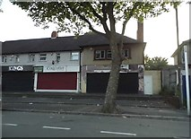 SO9491 : Shops on Priory Road, Dudley by David Howard