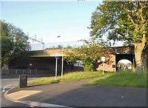 SJ9102 : Church Road at the junction of Three Tuns Lane by David Howard