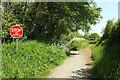 SS4914 : Tarka Trail approaching Yarde by Derek Harper