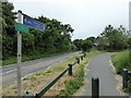 TQ5807 : Cuckoo Trail at Junction with Ersham Lane by PAUL FARMER
