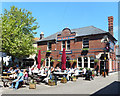 SY6878 : Busy Afternoon for The Red Lion by Des Blenkinsopp