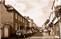 ST7593 : Long Street, Wotton Under Edge, Gloucestershire 2015 by Ray Bird