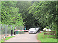 SP8809 : The New Entrance Barrier in Wendover Woods by Chris Reynolds
