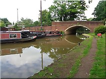 SO9262 : The Salt Way crosses the Worcester & Birmingham Canal by Jeff Gogarty