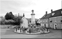 ST7593 : War Memorial, Wotton Under Edge, Gloucestershire 2014 by Ray Bird
