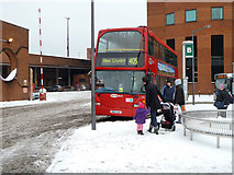 TQ2850 : London route 405 bus at Redhill by Robin Webster
