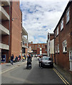 SP3166 : Covent Garden, access to the rear of Warwick Street, Leamington by Robin Stott