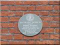 TM5593 : Grey plaque in Lowestoft High Street by Adrian S Pye