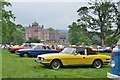 NT5347 : Classic cars at Thirlstane Castle by Jim Barton