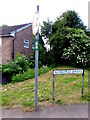 ST3091 : Dog-related signs on a Malpas corner, Newport by Jaggery