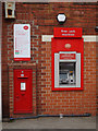 SE6204 : Post box and ATM on Church Street, Armthorpe by Ian S