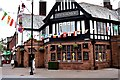 SD3200 : The George pub Crosby village by Norman Caesar