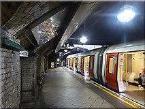 TQ2882 : A Metropolitan Line train at Great Portland Street by John Lucas