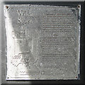 TM5593 : Informative plaque in Wilde Score. (Red Herring Trail) by Adrian S Pye