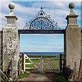NC8500 : Arch over Dunrobin Castle Walled Garden Gateway by valenta