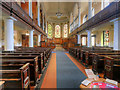 SJ8398 : St Ann's Church, Interior by David Dixon
